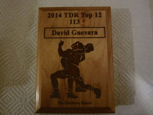 1A 113 Lbs. State Champ David Guevara of Tarboro