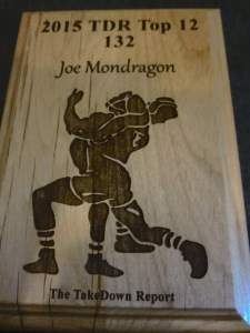 Joe Mondragon of Ashley H.S.