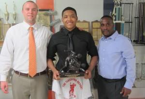Big Award at North Pitt H.S.